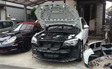 BMW X1 電動コーナーポール・コーナーセンサ取り付け
