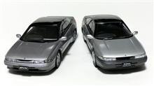 1/24国産名車コレクション「アルシオーネSVX」を自作キットと比較してみる。