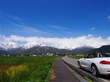 Z4で行く 春の白馬ドライブ