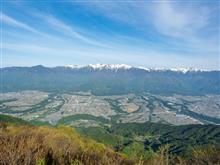 天空のキャンプ場 陣馬形山へ