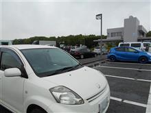 PASSO・5回目のユーザー車検 継続検査