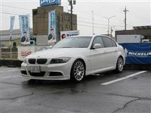 メンテナンスは大事....BMW E90 325 エンジンオイル+エレメント交換 FUCHS