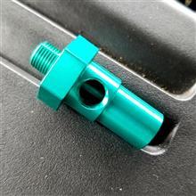 油圧、油温センサーの取り付け☆