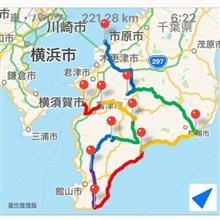 GW千葉観光名所巡りツーリング〜前半編