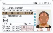 ゴールド免許証復活!