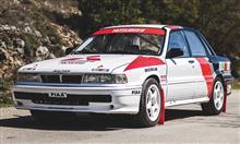 ミツビシ ギャラン VR-4 往年 の WRC グループA マシン が オークション に 出品 へ : レスポンス ・・・・