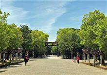奈良県、橿原神宮へ行ってきました~