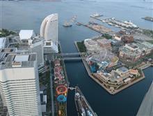 横浜ランドマークタワーからの夜景、動画アップしたよ
