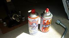 リア対向ピストン・キャリパーの再塗装