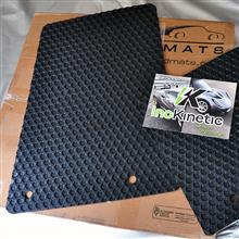 Isokinetic Rubbertite Floor Mats No Console