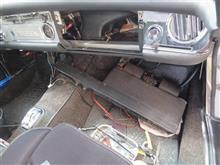 W113 ヒルシュマンオートアンテナ取付