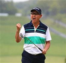 日本プロゴルフ選手権をTV観戦。