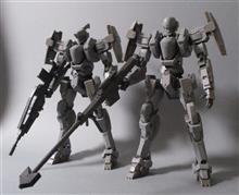 バンダイ・フルメタルパニック1/60ガーンズバック(一般機)Ver.Ⅳ完成。