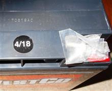 欠品の12V20Pが入荷しました、製造は18年4月