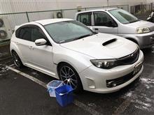 雨=洗車チャンス
