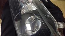 3回目のヘッドライト磨き(整備記録用)