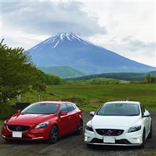 紅白めでたく?富士山周遊(^o^)