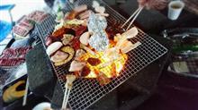 豪雨の中、、BBQオフ!! in徳島