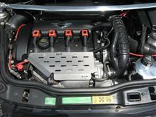 「R56」エンジンオイル+フィルター・アルミリザーバータンク・プラグ交換
