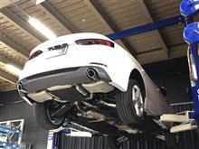 NEW AUDI A5マフラー開発スタート!!