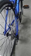 自転車の洗車
