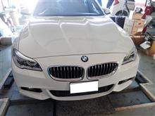 BMW F11 レーダー、ドラレコ取付