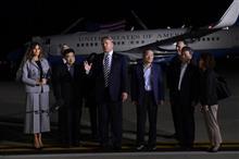 北朝鮮、拘束していた米国人3人を解放