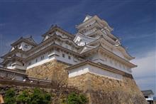 オアシスロードスターミーティングに参加することになって姫路に行くので、前乗りで姫路城観光(姫路城入り口まで)