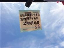 高〜い年貢(自動車税)と車検も済んでまた2年間上等