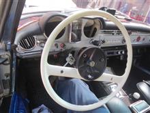 W113 ステアリングカップリング交換 その2