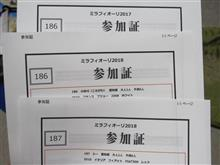 6/10ミラフィオーリ2台参加します、今日の名古屋ホココス。