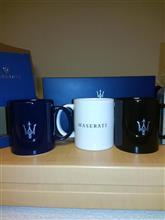 マセラティ マグカップ3種類を購入