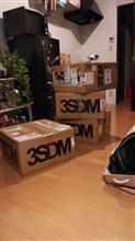 3SDM到着ヽ(^0^)ノ