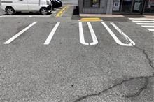 駐車するのが超難しい駐車枠