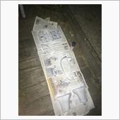 内装パネルの塗装