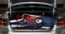 VWにキャディバッグが何個積めるか試した