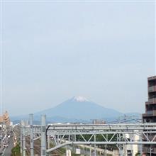 今日の富士山。18,5,21