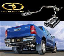 群馬トヨタ RV-Park 「ハイラックスイベント」にガナドールマフラーも出展します!