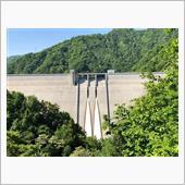 新緑のダム探索