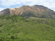 活火山の「恵山」と外輪山の「海向山」(その2)