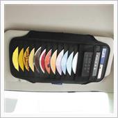 サンバイザー用 CDホルダー