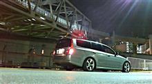 深夜に洗車から、ちょっと撮影
