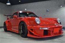 世界中が注目する世界で最もカッコいい空冷ポルシェ ポルシェ・911のガラスコーティング【リボルト高崎】