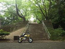 久しぶりのオートバイ運転