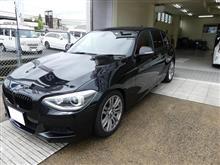 BMW F20にソニックプラス取付