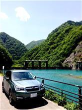奈良田湖(西山ダム)