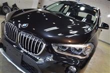 「アクティブに駆け抜けるSAV」BMW X1のガラスコーティング【リボルト松本】