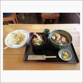 (めん処横川) ミニ天丼セット