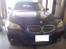 BMW E60 5シリーズ 550i ABA-NB48 オイル漏れ ヘッドカバーガスケット