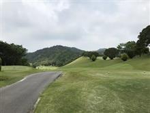 ゴルフは晴天で